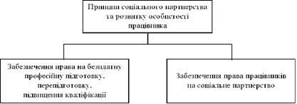 Принцип соціального партнерства та розвитку особистості працівника