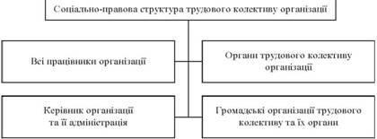 Соціально-правова структура трудового колективу
